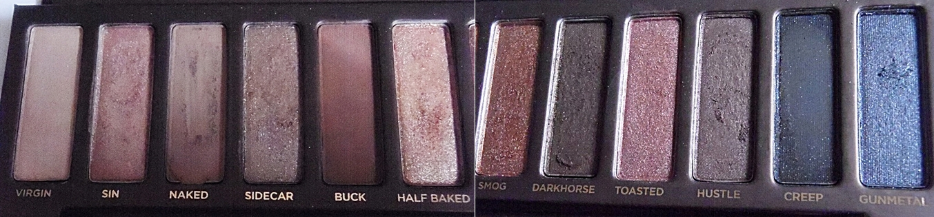 Urban Decay Naked Palette Shades