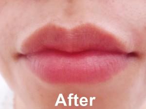 After Lush Santa Sugar Lip Scub