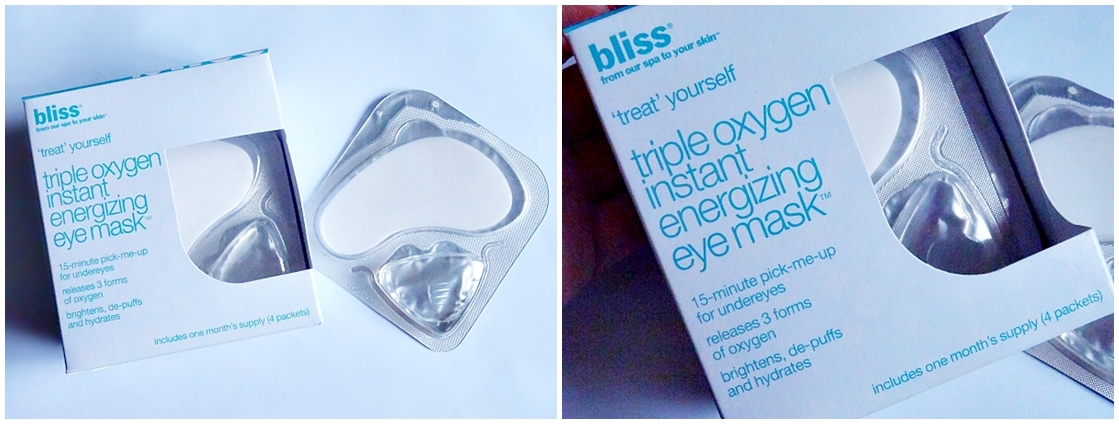 Bliss Spa Eye Gel Mask Product Review Singapore