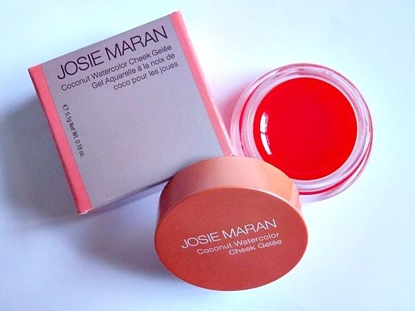Josie Maran Coconut Argan Oil Cheek Gelee Review