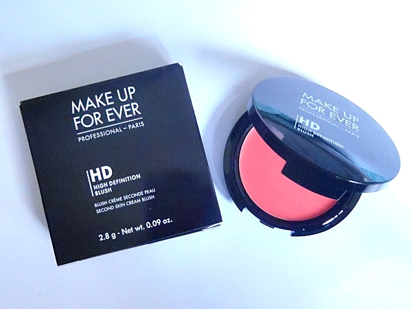 Makeup For Ever Cream Blusher Review