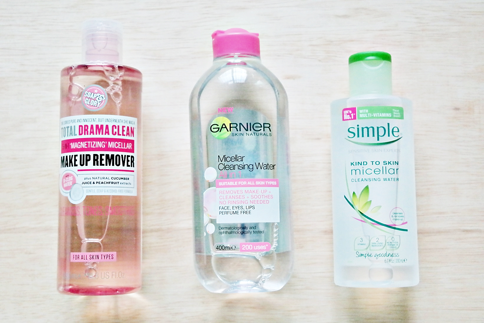 Micellar Cleansing Water Makeup