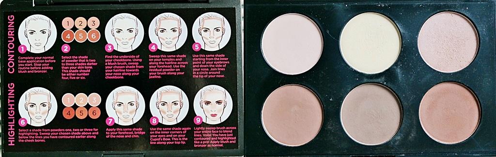 Australis Face Contouring Makeup Powder Palette Review