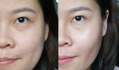Before & After Face Contouring Makeup with Australis Cosmetics Singapore