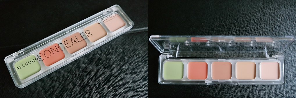 Catrice Cosmetics AllRound Under Eye Concealer Palette Review