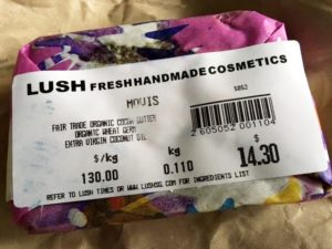 Lush Natural Soap Products For Eczema Singapore