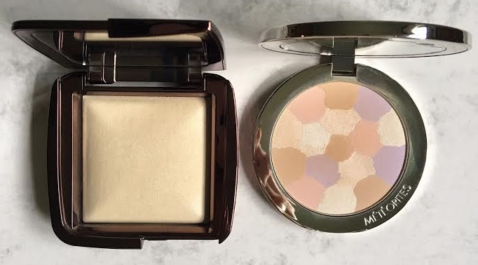 Hourglass Ambient Lighting Powder vs Guerlain Meteorites Compact Light Revealing Powder