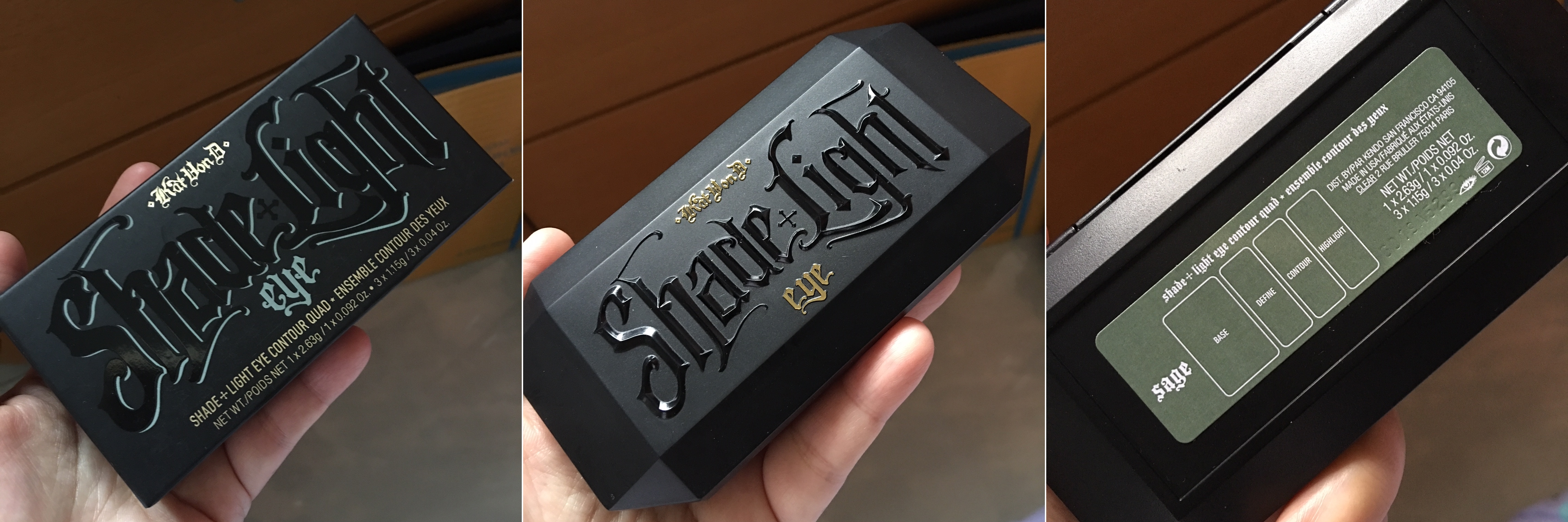 Kat Von D Shade and Light Eyeshadow Palette Review Singapore